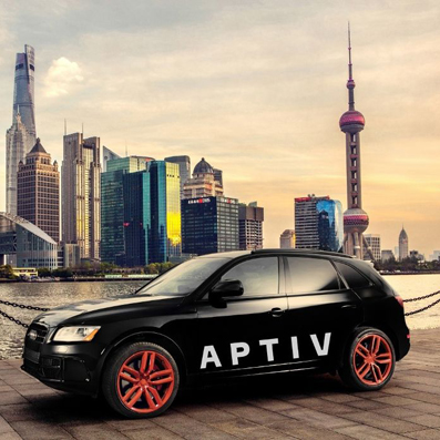 aptiv car black crop