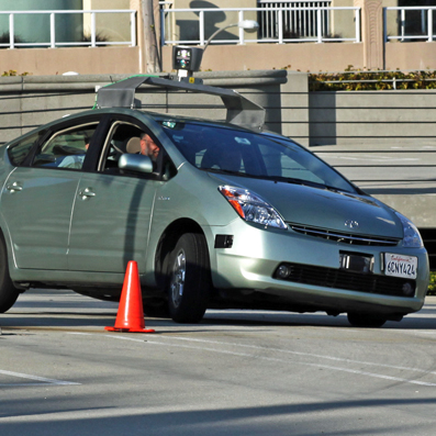 google driverless car test crop