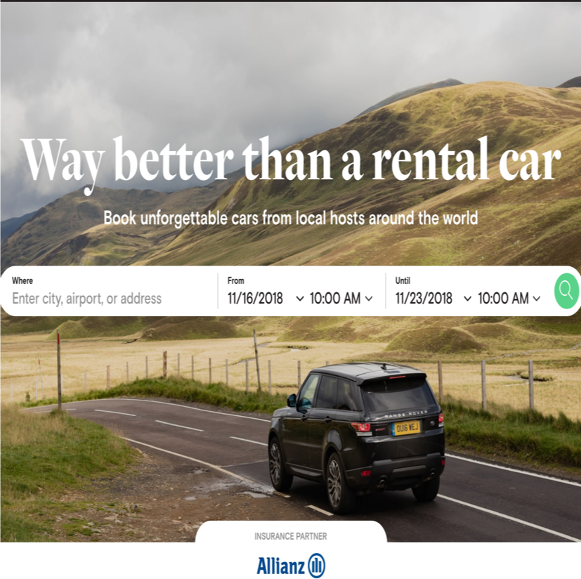 Airbnb For Cars Arrives In Uk Smart Highways Magazine Industry News